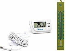 Lantelme 6600 Digital und Analog Thermometer Set -