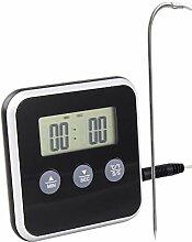 Lantelme Digital Backofen Thermometer Einstich