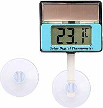 Lantelme Digital Solar Thermometer Wasserdicht mit