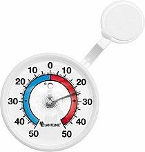 Lantelme Fenster Thermometer Selbsklebend