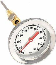 Lantelme Grill Thermometer 500 Grad 50cm Sonde