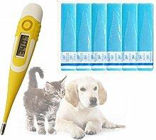 Lantelme Set Tier Digital Fieber Thermometer mit