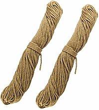 Lantelme Sisal Rankhilfe Seil für Kletterpflanzen