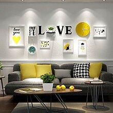 laoga Fotorahmen Wand Einfache Liebesbrief
