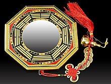 Laogg Bagua Spiegel Feng Shui Konkav Spiegel Für