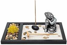 Laogg Zen Garten Japanische Buddha Statue Mit