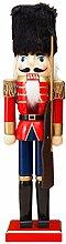 LAOKEAI Nussknacker Figuren Soldat Puppe, 15 Zoll