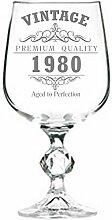 Lapal Dimension Weinglas zum 40. Geburtstag, 313 ml