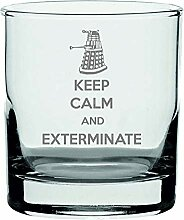 Lapal Dimension Whiskyglas Keep Calm and