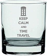 Lapal Dimension Whiskyglas mit Aufschrift Keep