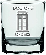 Lapal Dimension Whiskyglas, Motiv: Doctor Who