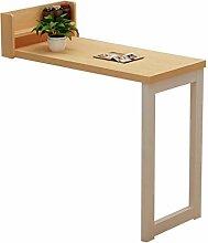 Laptop-Schreibtisch Wandtisch klappbar | Kaffee