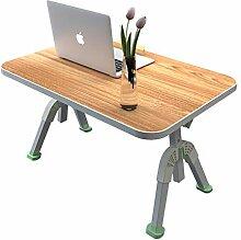 Laptop-Stand-Bett-Tabelle, faltender