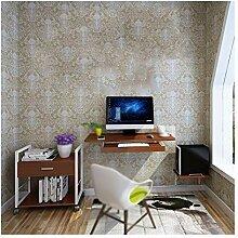 Laptop-Tisch, einfacher Schreibtisch, an der Wand