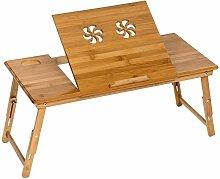 Laptoptisch aus Holz, höhenverstellbar,