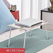 Laptoptisch Faltbarer Laptop-Tisch, Nachttisch