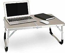 Laptoptisch, tragbar, Aluminiumlegierung,