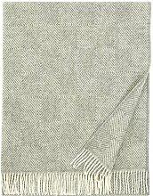 Lapuan Kankurit Maria Wolldecke 130x180 cm - weiß grau