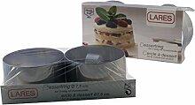 Lares LA6072 Dessert-Ring Dessertring Speisering
