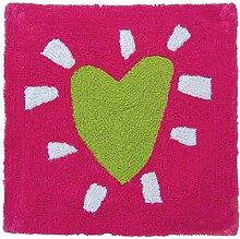 Laroom 11657-Teppich Baumwolle Schauen Herz,
