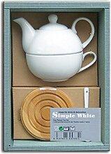 Laroom 13031–Set Geschenk Tisch Teekanne und