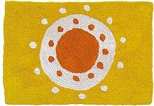 Laroom Teppich, Baumwolle, Orange
