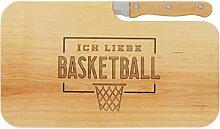 LASERHELD Brotzeitbrett Jausenbrett Holz Erle