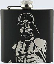 Lasermade Flachmann mit Darth Vader-Motiv, Star