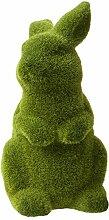 Lashuma Gartenskulptur Hase - Tierfigur mit