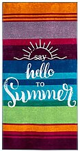 Lashuma Liege Badehandtuch Hello to Summer,