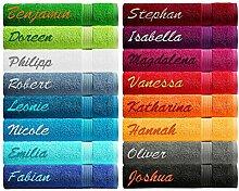 Lashuma Personalisiertes Handtuch mit Namen