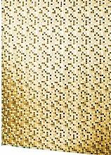 Lashuma Vinyl Duschvorhang 180x200 cm mit Ringen