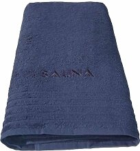 Lashuma Wellness Saunatuch blau, Badetuch XXL