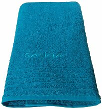 Lashuma Wellness Saunatuch petrol - blau, Badetuch