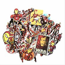Later American Marvel Serie Iron Man Graffiti