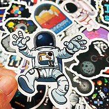 Later Planet Rocket UFO Astronaut Cartoon Graffiti