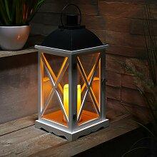 Laterne inkl. LED-Kerze H ca.50cm 'Henric'