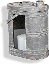 Laterne Kanister Behälter XXL Shabby-Stil