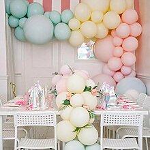 Latex-Luftballon, 25,4 cm, Macaron,