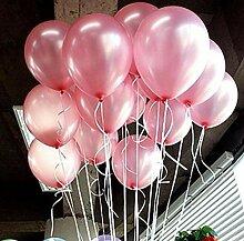 Latex-Luftballon, bunt, Perlen, 25,4 cm rose