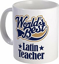 Latin Teacher Tasse Becher, dunkel