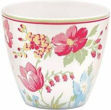 Latte Cup - Becher Porzellan ohne Henkel - Donna