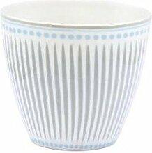 Latte Cup Becher Porzellan ohne Henkel Vita sand
