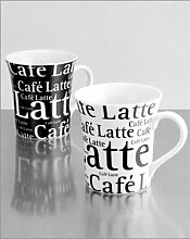 LATTE Kaffeebecher Doppelset