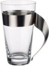 Latte-Macchiato-Glas NEWWAVE (DH 12x15 cm)