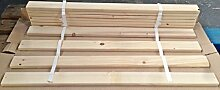 Lattenrollrost Latenrost Holz Lamellen für Etagenbett Hochbett aus Kiefer 90 x 200 cm