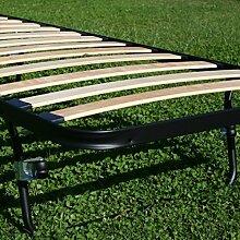 Lattenrost öffnen Einzelbild platzsparend faltbar ausziehbar versenkbare Bett Bett mit Matratze singola 80x185