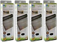 Laub und Insektenschutz für Lichtschacht | Kellerschachtabdeckung | Schutzgitter (4)