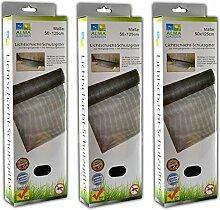 Laub und Insektenschutz für Lichtschacht | Kellerschachtabdeckung | Schutzgitter (3)