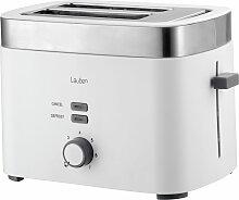 Lauben Toaster T17WS, 930 W, mit praktischer